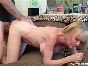 drilled Up plumb dream With amateur GILF