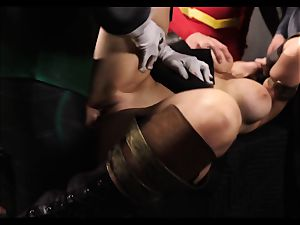 Justice League gonzo part five - Hero romp with Romi Rain