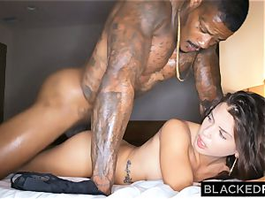 BLACKEDRAW cheating girlfriend hooks up with black man