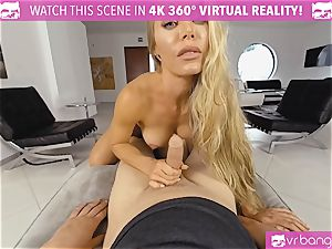 VR PORN-Nicole Aniston Gets pulverized rigid and bj's