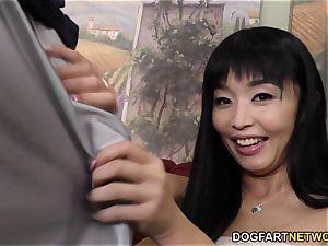 Marica Hase big black cock anal with Mandingo