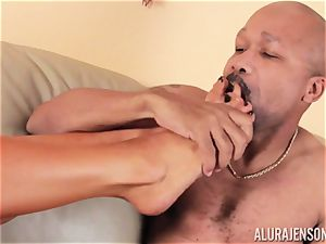 Alura Jenson slammered plums deep and receives red-hot red-hot creampie
