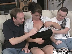 kinky whore wifey three-way gulp fuck soiree For spouse