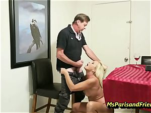 boinking the Boss's wife with Ms Paris Rose