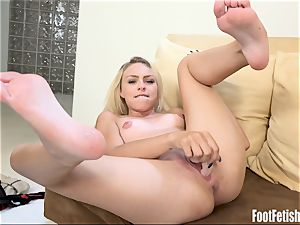 Zoe Clark sole Fetish masturbation