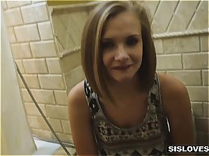 young stepsister Paisley can only pay with hump