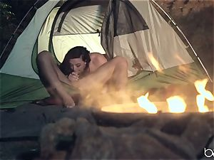red-hot camping hard-on cockblower Whitney Wright