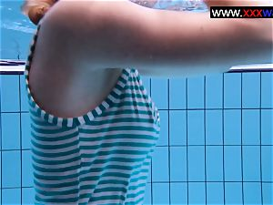 Anetta the super hot teenage in a mind-blowing swim-suit