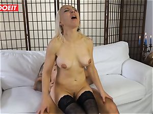 sizzling milf gets boinked xxx in first time casting