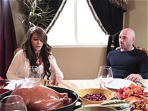 Kitchen poon plumb with super-sexy Madison Ivy