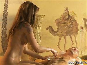 The Turkish Ritual rubdown