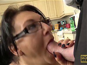 big-boobed mature Sabrina Jade luvs to be penetrated roughly