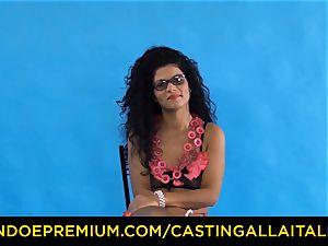 casting ALLA ITALIANA - Romanian nymphomaniac ass humped