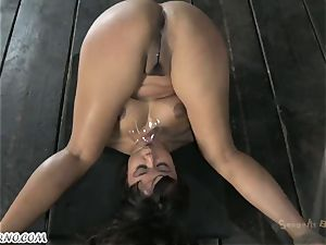 chubby latin poor dame is prepared for anal invasion sadism & masochism